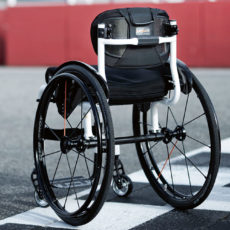 Pflege von Rollstühlen
